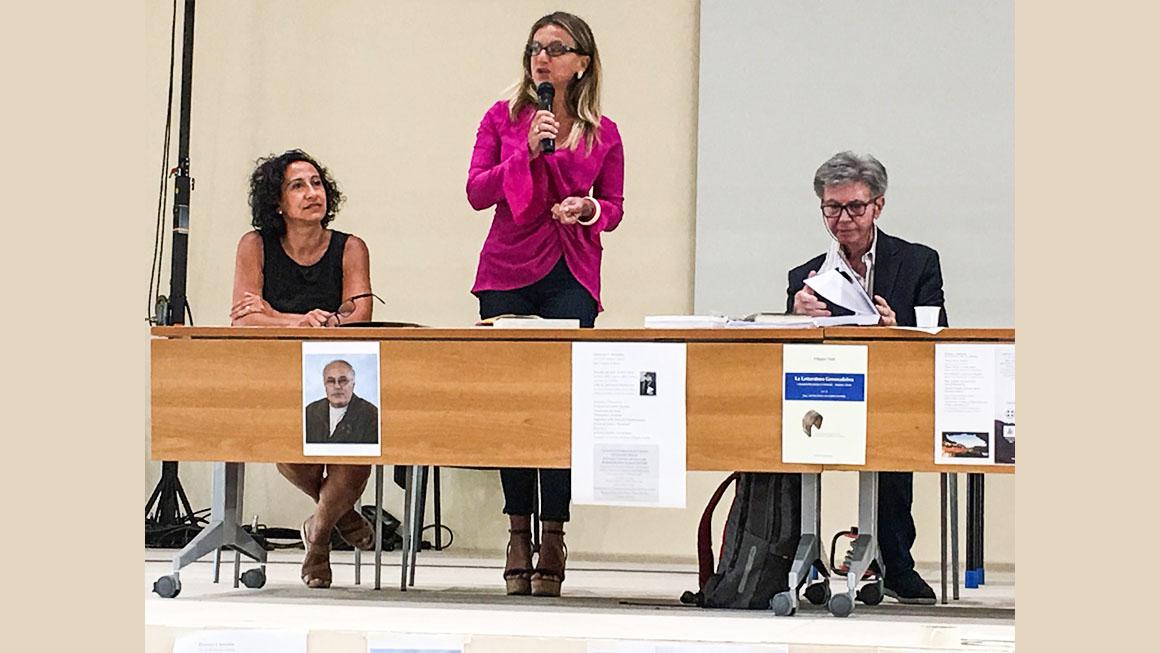 D.ssa Pietropaolo presenta l'opera di Francesca Tripodi