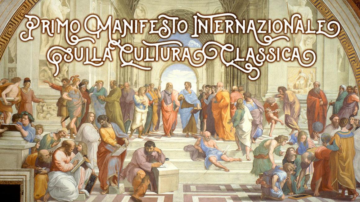Primo Manifesto Internazionale sulla Cultura Classica motore di una nuova economia